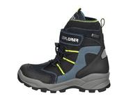 Snow Boot in Lederoptik