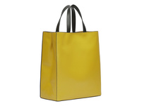 Paper Bag Tasche aus Leder - Paper Bag Tote M