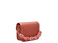 Tasche Clasp Crossbody S - Umhängetasche mit breitem Textilgurt und geknüftem Henkel