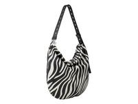 Hobo Bag mit Zebramuster - Dive Zebra Hobo M