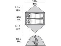 MSR Hubba Hubba NX Kuppelzelt