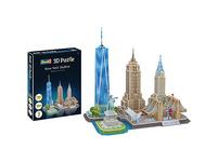 3D-Puzzle New York Skyline, 123 Teile