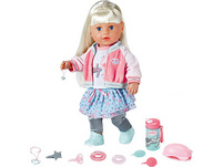 Exklusiv BABY born® Soft Touch Sister blond 43 cm SPECIAL