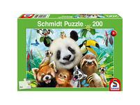 Puzzle 200 Teile Einfach tierisch!