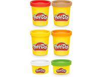 Play-Doh Kitchen Creations Grillstation, Spielset mit 6 Play-Doh Farben und 7 Zubehörteilen