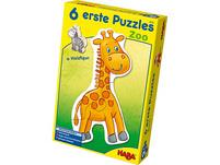 HABA 4276 6 erste Puzzles - Zoo