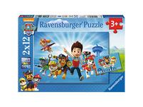 2er Set Puzzle, je 12 Teile, 26x18 cm, Ryder und die PAW Patrol