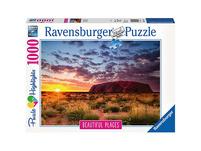Puzzle 1000 Teile, 70x50 cm, Ayers Rock in Australien