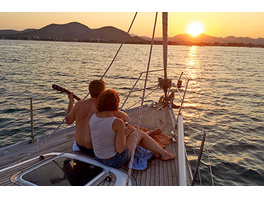 Segeltoern mit Romantik-Dinner auf Mallorca für 2