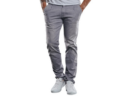 Chino im Jeans-Look aus leichter Baumwolle