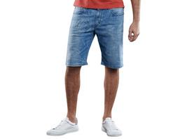 Modische Denim Shorts mit coolem Laserprint