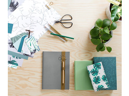 Motivpapier- und Geschenkanhänger-Set