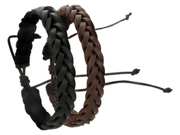 Armband - Braided Leather