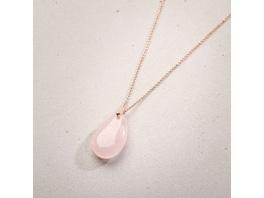 Kette - Lovely Rosé Quartz