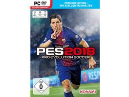 Konami PES 2018 - Premium Edition