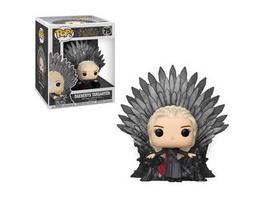 Game of Thrones - POP! Vinyl-Figur Daenerys Targaryen auf dem Eisernen Thron (Super Size)