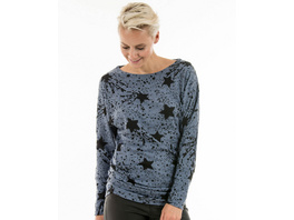 Weiches Sweatshirt mit Sternen