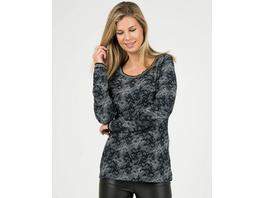 Weiches Jacquard-Sweatshirt