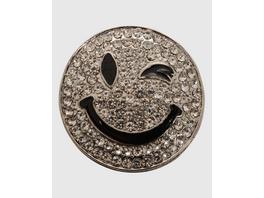 Smiley Magnetbrosche