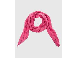 Weicher Schal mit Schriftzug in Pink