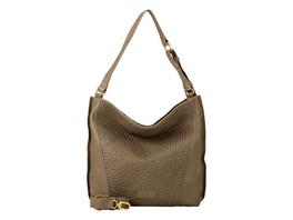 Tasche mit geflochtenem Leder - Santa Fe Hobo M