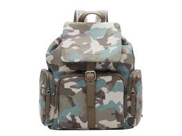 Rucksack mit Camouflageprint aus recyceltem Nylon - Eco Aware Rucksack L