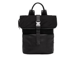 mittelgroßer Kurierrucksack mit Leder-Applikationen - Staton Backpack M