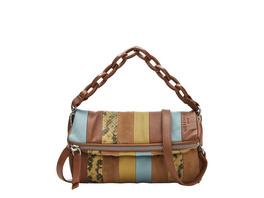 Patchwork Bag aus Wildleder und Glattleder - Jane Crossbody XS