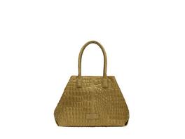 eleganter Shopper aus Leder mit Krokodilprägung - Chelsea Shopper M