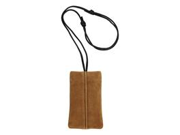 Handy Case zum Umhängen aus Wildleder - Demi Suede Mobile Pouch