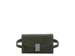 Elegante Bauchtasche im Schlangenleder-Look - Flare Lizard Belt Bag XS