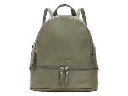 Klassischer Rucksack aus glattem Leder - Alita Backpack M