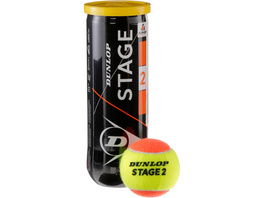 Dunlop STAGE 2 ORANGE Tennisball Kinder