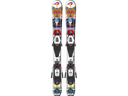 Salomon E T1 JR XS + C5 GW J75 All-Mountain Ski Kinder