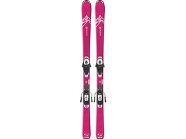 Salomon E QST LUX JR M + L6 GW All-Mountain Ski Mädchen