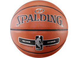 Spalding NBA SILVER Basketball