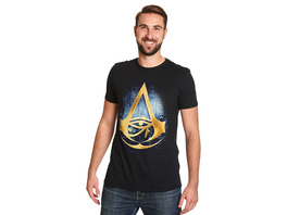 Assassins Creed - Origins Logo T-Shirt schwarz