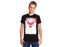 Stephen Kings ES - Pennywise Smile T-Shirt schwarz