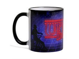 Upside Down Tasse für Stranger Things Fans