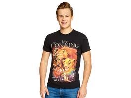 König der Löwen - Poster T-Shirt schwarz