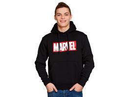 Marvel - Logo Hoodie schwarz