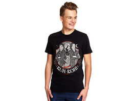 Supernatural - Scoobynatural Ruh-roh T-Shirt schwarz