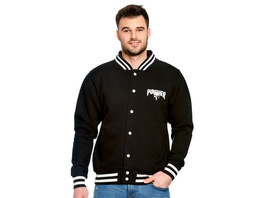 Punisher - Blood Skull College Jacke schwarz-weiß