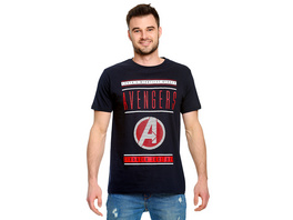 Avengers - Stronger Together T-Shirt blau