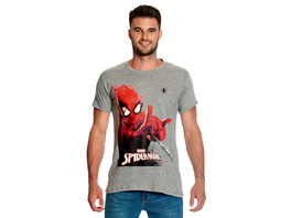 Spider-Man - Attack T-Shirt grau