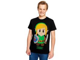 Zelda - Links Awakening T-Shirt schwarz
