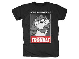 Looney Tunes - Taz Trouble T-Shirt schwarz