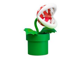 Super Mario - Piranha-Pflanze Tischlampe