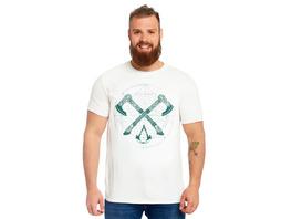 Assassins Creed - Valhalla Crossaxe T-Shirt weiß