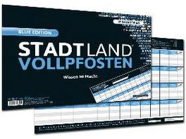 STADT LAND VOLLPFOSTEN  - BLUE EDITION -  Wissen i